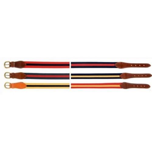Cinturon lexhis elastico bicolor