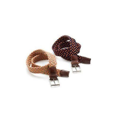 Cinturon lexhis algodon trenzado ancho