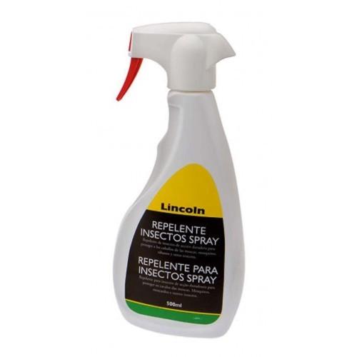 Repelente insectos lincoln locion con pulverizador