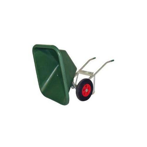 Carretilla establo equip´horse plastico/acero galvanizado 2 rued