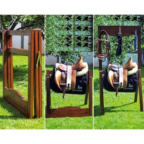Portasillas portatil lehmann madera plegable