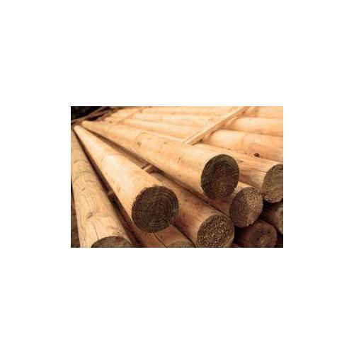 Barra obstaculo madera tratada