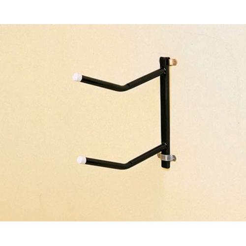 Portasillas pared stubbs fijo desmontable base tubular (2 brazos