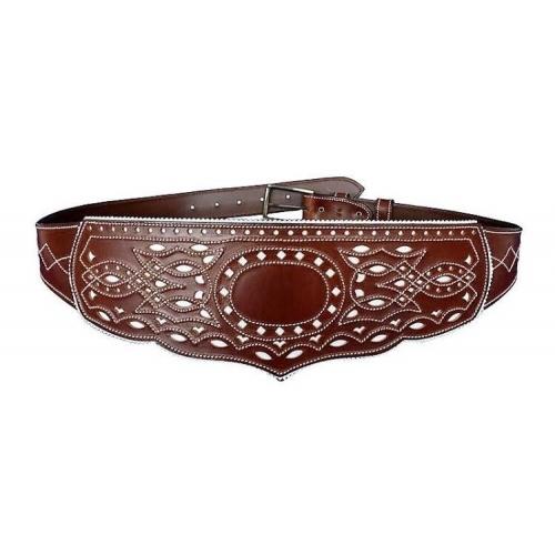 Cinturón Peto Señora Hebilla Modelo Círculo