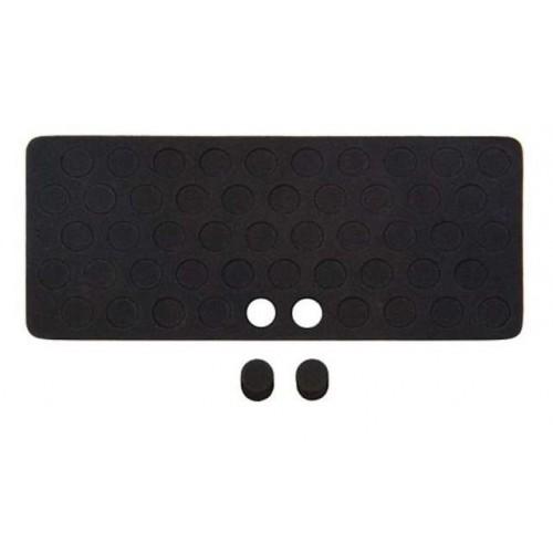Tapon mustad de goma espuma para agujero ramplon (placa 50 unida